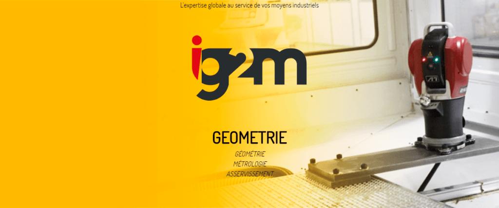 Geometrie laser tracker API
