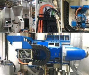 Rétrofit complet d'une fraiseuse Liné Machines Powermill H