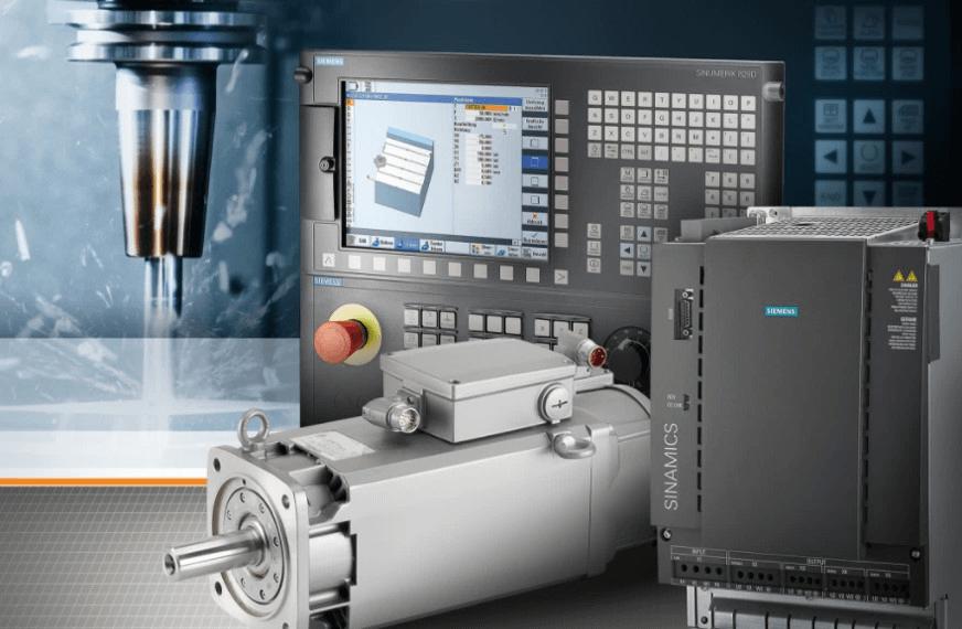 Moteur et variateur Siemens