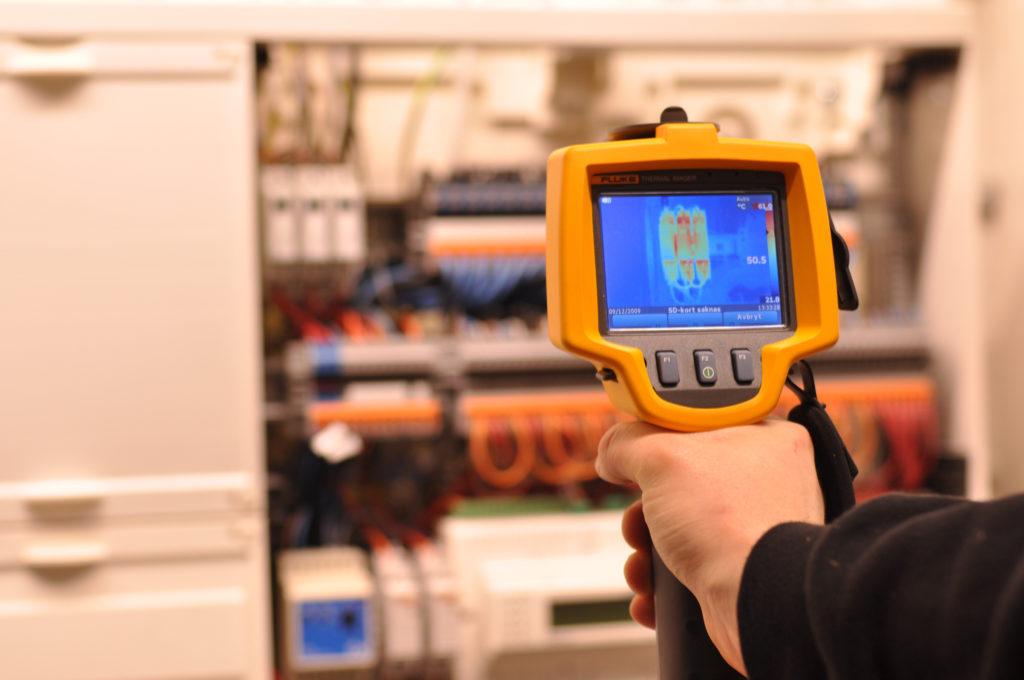 Thermographie armoire électrique
